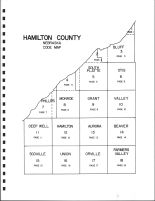Hamilton County Code Map, Hamilton County 1985
